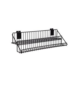 "Shelf wire, 2 level for slatwall 24"" or 48"""