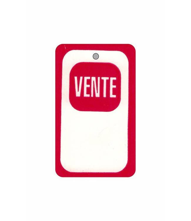 """Étiquette """"VENTE"""" 1.75"""" x 2.88""""H"""