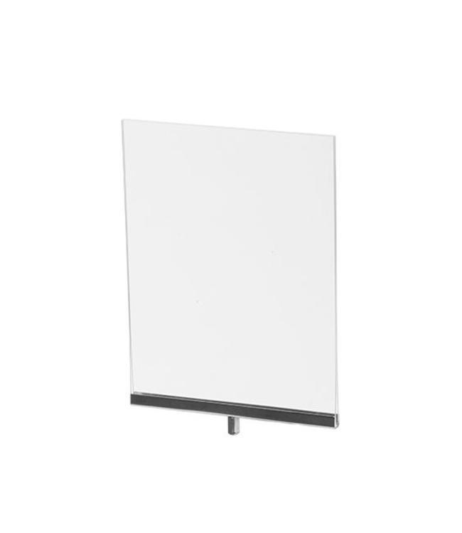 """Porte-affiche vertical en acrylique 8.5"""" x 11"""" H"""