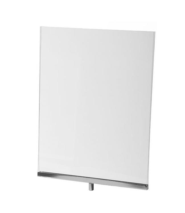 """Porte-affiche vertical en acrylique 11"""" x 14"""" H"""