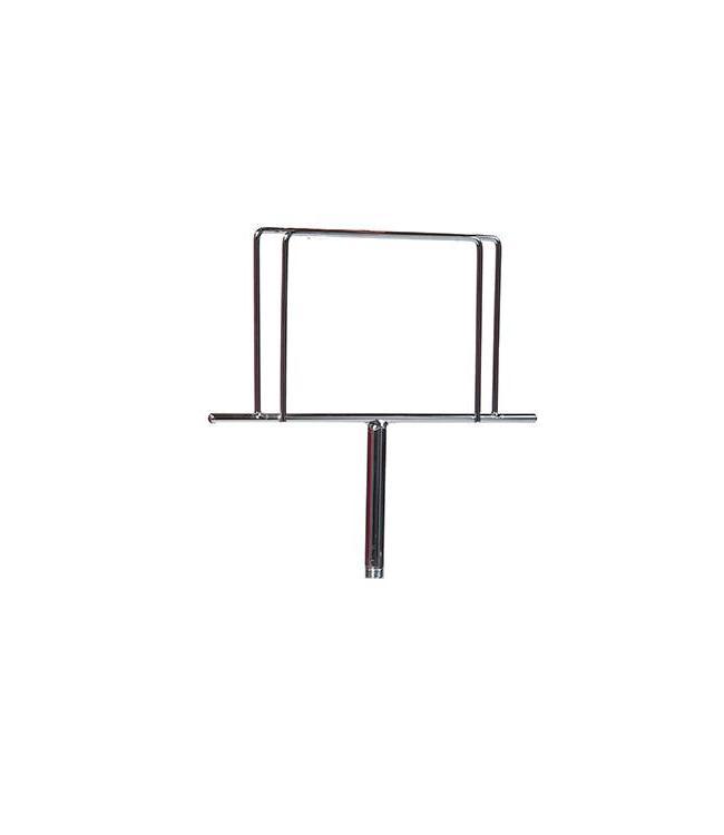 Porte-affiche style trombone sur tige de 3''