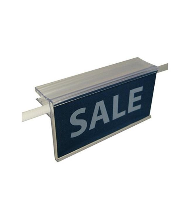 """Price holder 1-1/4""""H for glass shelf up to 1/4"""" thick 24"""" or 48'"""""""