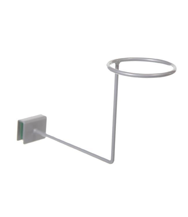 Hat display for rectangular tubing