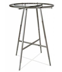 """Round rack foldable 36"""" ou 42"""" diametre chrome"""
