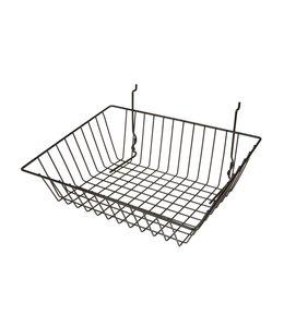 "Basket 15""x12""x5""H slatwall/pegboard/grid"