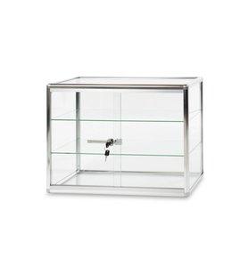 "Glass display 24"" x 12"" x 18""H"