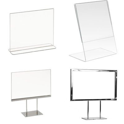 Counter sign holders