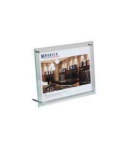 Porte-affiche hybride vertical/horizontal 5'' x 7''