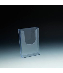 "Wallmount/SW/Slatgrid brochure holder 4-3/8'' x 1-11/16'' x 6-1/2""H"