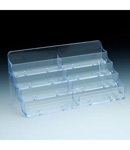"""Support à cartes de comptoir, 8 casiers 8"""" X 3-1/2 X 4""""H"""