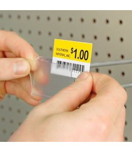 "Label for price holder 2""x 1-1/4""H, box of 8000"
