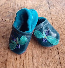 Starry Knight Design Applique Shoes Dragonfly