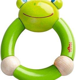 HABA Haba Croaking Frog Clutching Toy