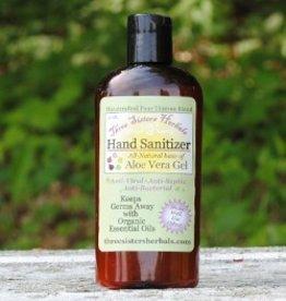 Three Sisters Herbals Hand Sanitizer Aloe Vera Gel
