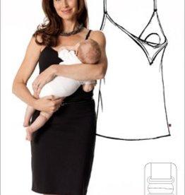 Glamourmom Glamourmom Nursing Bra Slip Dress