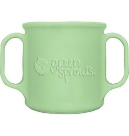 Green Sprouts Green Sprouts Green Silicone cup