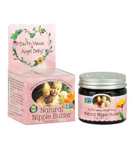 Earth Mama Angel Baby Breastfeeding Natural Nipple Butter 2 fl. oz. (a)