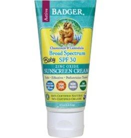 Badger Healthy Body Care Badger Sunscreen Cream SPF 30