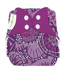 BumGenius Freetime All-In-One Cloth Diaper Limited Edition Patch Snap
