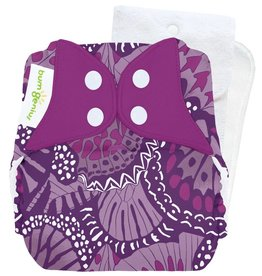 Bumgenius 4.0 Stay-Dry Cloth Diaper Limited Edition Patch Snap