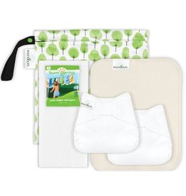 Econobum Newborn Cloth Diaper Starter Kit