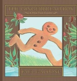 The Gingerbread Boy by Paul Galdone Hardcover