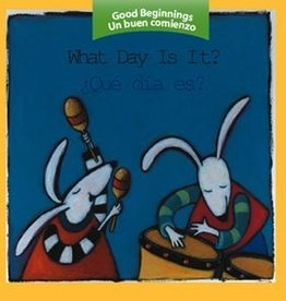 Houghton Mifflin Harcourt Good beginnings What Day Is It? Board Book