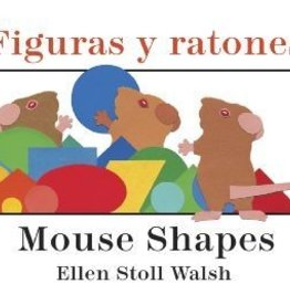 Houghton Mifflin Harcourt Mouse Shapes By Ellen Stoll Walsh Bilingual Board Book