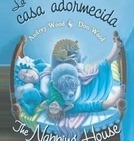 Houghton Mifflin Harcourt The Napping House by Audrey Wood and Don Wood Bilingual Board Book