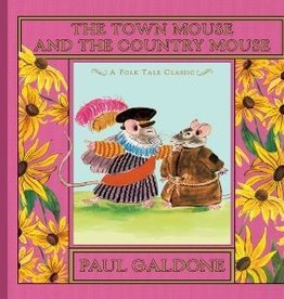 The Town Mouse and the Country Mouse by Paul Galdone Hardcover