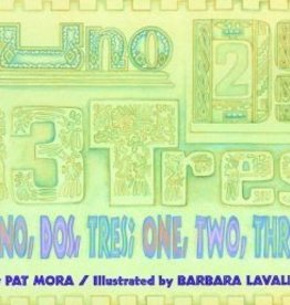 Houghton Mifflin Harcourt Uno, Dos, Tres; One, Two, Three by Pat Mora  Paperback