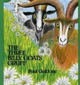 Houghton Mifflin Harcourt The Three Billy Goats Gruff by Paul Galdone Book and CD Set