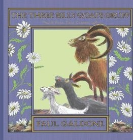 The Three Billy Goats Gruff by Paul Galdone Hardcover