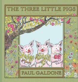 Houghton Mifflin Harcourt Three Little Pigs by Paul Galdone Hardcover