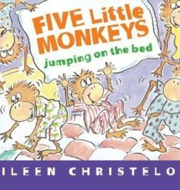 Five Little Monkeys Jumping on the Bed by Eileen Christelow Board Book