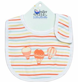 Under The Nile Under The Nile Air Balloon Bib