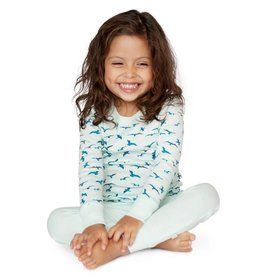 Finn + Emma Finn + Emma Long Sleeve Pajamas Blue Bird