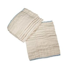 OsoCozy OsoCozy Unbleached Indian Cotton Prefold