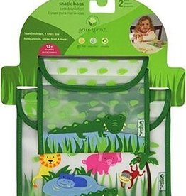 Green Sprouts on Safari Snack Bags