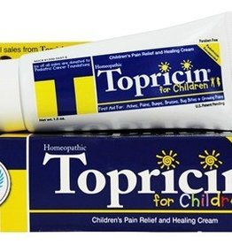 Topricin for Children Pain Relief and Healing Cream 1.5oz.