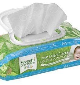 Seventh Generation Free & Clear Wipes