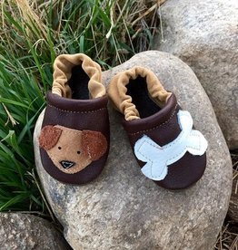 Starry Knight Design Applique Shoes Dog and Bone