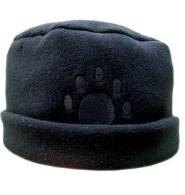 Bear Hands Fleece Paw Print Hat