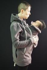 Tasku Babi Whole Mama Fleece Jacket Gray