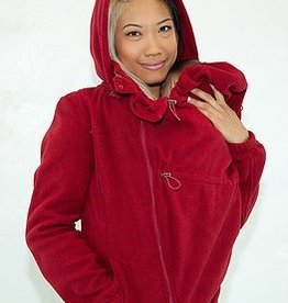 Tasku Babi Tasku Babi Whole Mama Fleece- Cherry