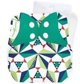 BumGenius Bumgenius 5.0 - Sierpinski - Stay-Dry Cloth Diaper Limited Edition