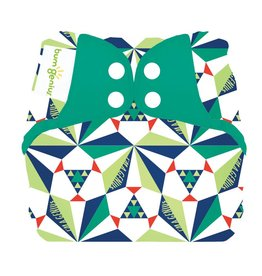 BumGenius Bumgenius Elemental - Sierpinski - Organic Cloth Diaper Limited Edition