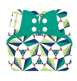 BumGenius Bumgenius Elemental - Sierpinski - Organic Cloth Diaper Limited Edition