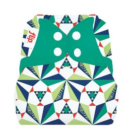Flip Flip Diaper Cover - Sierpinski - Limited Edition