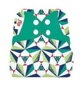 Flip Flip Diaper Cover - Sierpinski - Limited Edition